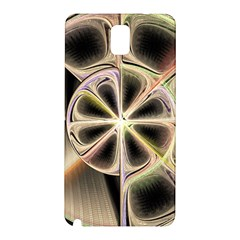 Background With Fractal Crazy Wheel Samsung Galaxy Note 3 N9005 Hardshell Back Case by Simbadda