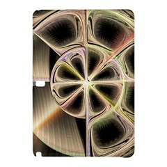 Background With Fractal Crazy Wheel Samsung Galaxy Tab Pro 12 2 Hardshell Case by Simbadda