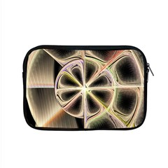 Background With Fractal Crazy Wheel Apple Macbook Pro 15  Zipper Case by Simbadda