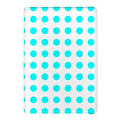 Polka Dot Blue White Samsung Galaxy Tab Pro 10 1 Hardshell Case by Mariart