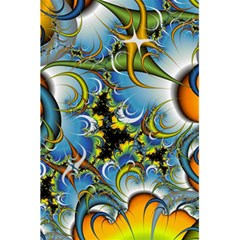 High Detailed Fractal Image Background With Abstract Streak Shape 5 5  X 8 5  Notebooks by Simbadda