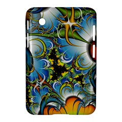 High Detailed Fractal Image Background With Abstract Streak Shape Samsung Galaxy Tab 2 (7 ) P3100 Hardshell Case  by Simbadda