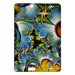 High Detailed Fractal Image Background With Abstract Streak Shape Amazon Kindle Fire Hd (2013) Hardshell Case by Simbadda