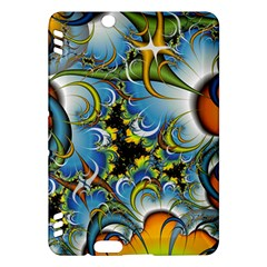 High Detailed Fractal Image Background With Abstract Streak Shape Kindle Fire Hdx Hardshell Case by Simbadda