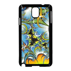 High Detailed Fractal Image Background With Abstract Streak Shape Samsung Galaxy Note 3 Neo Hardshell Case (black) by Simbadda