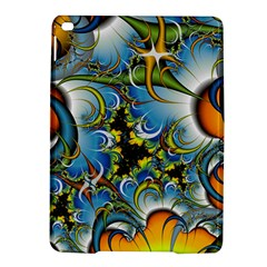 High Detailed Fractal Image Background With Abstract Streak Shape Ipad Air 2 Hardshell Cases by Simbadda