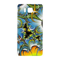 High Detailed Fractal Image Background With Abstract Streak Shape Samsung Galaxy Alpha Hardshell Back Case