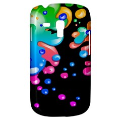 Neon Paint Splatter Background Club Galaxy S3 Mini by Mariart
