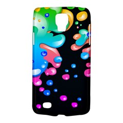 Neon Paint Splatter Background Club Galaxy S4 Active by Mariart