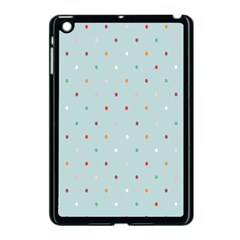 Polka Dot Flooring Blue Orange Blur Spot Apple Ipad Mini Case (black) by Mariart