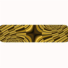 Fractal Golden River Large Bar Mats by Simbadda
