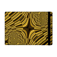 Fractal Golden River Apple iPad Mini Flip Case by Simbadda