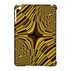 Fractal Golden River Apple Ipad Mini Hardshell Case (compatible With Smart Cover) by Simbadda