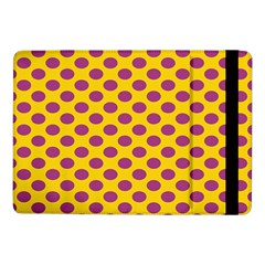 Polka Dot Purple Yellow Orange Samsung Galaxy Tab Pro 10 1  Flip Case by Mariart