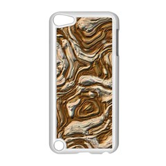 Fractal Background Mud Flow Apple Ipod Touch 5 Case (white) by Simbadda