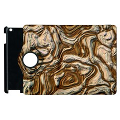 Fractal Background Mud Flow Apple Ipad 3/4 Flip 360 Case by Simbadda