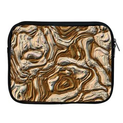 Fractal Background Mud Flow Apple Ipad 2/3/4 Zipper Cases by Simbadda