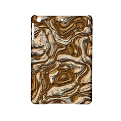 Fractal Background Mud Flow Ipad Mini 2 Hardshell Cases by Simbadda