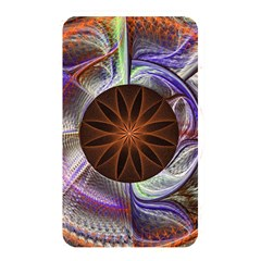 Background Image With Hidden Fractal Flower Memory Card Reader by Simbadda