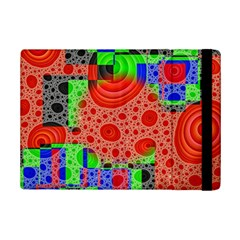 Background With Fractal Digital Cubist Drawing Ipad Mini 2 Flip Cases by Simbadda