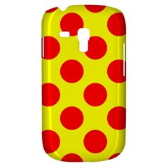Polka Dot Red Yellow Galaxy S3 Mini by Mariart