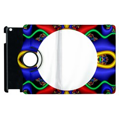 Symmetric Fractal Snake Frame Apple Ipad 3/4 Flip 360 Case by Simbadda