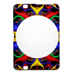 Symmetric Fractal Snake Frame Kindle Fire Hd 8 9  by Simbadda
