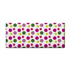Polka Dot Purple Green Yellow Cosmetic Storage Cases by Mariart