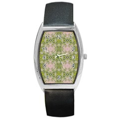 Digital Computer Graphic Seamless Wallpaper Barrel Style Metal Watch by Simbadda