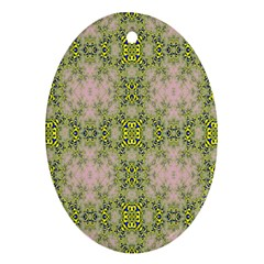 Digital Computer Graphic Seamless Wallpaper Oval Ornament (two Sides) by Simbadda