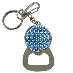 Polka Dot Blue Button Necklaces by Mariart