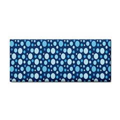 Polka Dot Blue Cosmetic Storage Cases by Mariart