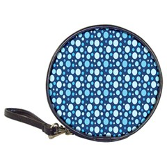 Polka Dot Blue Classic 20 Cd Wallets by Mariart