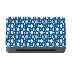 Polka Dot Blue Memory Card Reader With Cf by Mariart