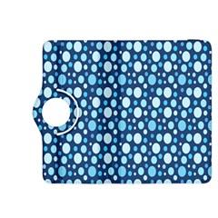 Polka Dot Blue Kindle Fire Hdx 8 9  Flip 360 Case by Mariart