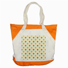 Polka Dot Yellow Green Blue Accent Tote Bag by Mariart