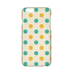 Polka Dot Yellow Green Blue Apple Iphone 6/6s Hardshell Case by Mariart