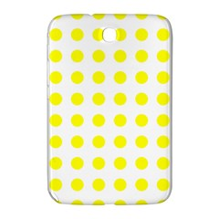 Polka Dot Yellow White Samsung Galaxy Note 8 0 N5100 Hardshell Case  by Mariart