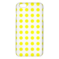 Polka Dot Yellow White Iphone 6 Plus/6s Plus Tpu Case by Mariart