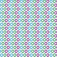 Polka Dot Like Circle Purple Blue Green Magic Photo Cubes by Mariart