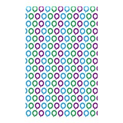 Polka Dot Like Circle Purple Blue Green Shower Curtain 48  X 72  (small)  by Mariart
