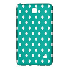 Polka Dots White Blue Samsung Galaxy Tab 4 (8 ) Hardshell Case  by Mariart