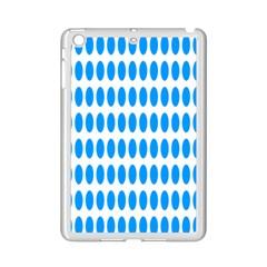 Polka Dots Blue White Ipad Mini 2 Enamel Coated Cases by Mariart
