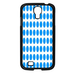 Polka Dots Blue White Samsung Galaxy S4 I9500/ I9505 Case (black) by Mariart
