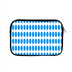 Polka Dots Blue White Apple Macbook Pro 15  Zipper Case by Mariart