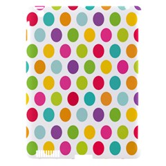 Polka Dot Yellow Green Blue Pink Purple Red Rainbow Color Apple Ipad 3/4 Hardshell Case (compatible With Smart Cover) by Mariart