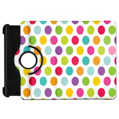 Polka Dot Yellow Green Blue Pink Purple Red Rainbow Color Kindle Fire Hd 7  by Mariart