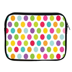 Polka Dot Yellow Green Blue Pink Purple Red Rainbow Color Apple Ipad 2/3/4 Zipper Cases by Mariart