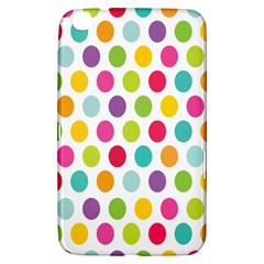 Polka Dot Yellow Green Blue Pink Purple Red Rainbow Color Samsung Galaxy Tab 3 (8 ) T3100 Hardshell Case  by Mariart