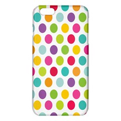 Polka Dot Yellow Green Blue Pink Purple Red Rainbow Color Iphone 6 Plus/6s Plus Tpu Case by Mariart